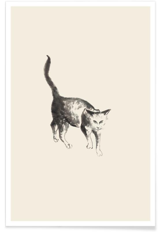 Japans geïnspireerd, Katten, Salem poster