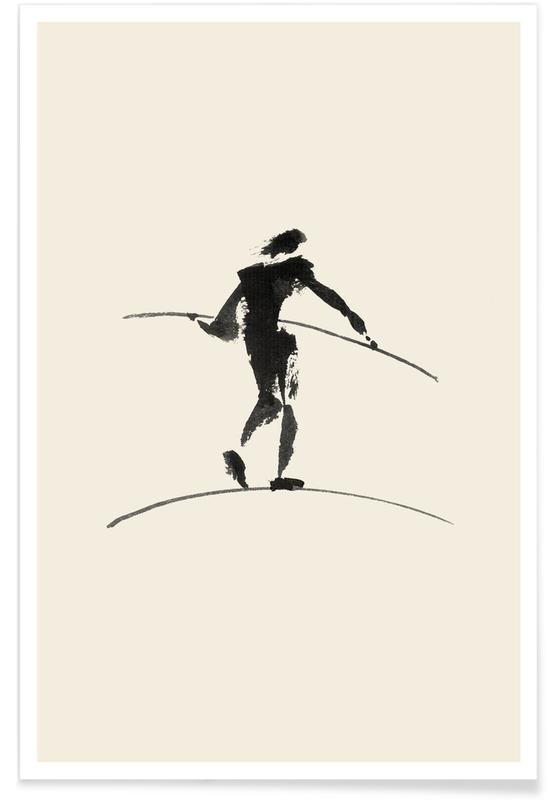 Japanese Inspired, Hasenheide Poster