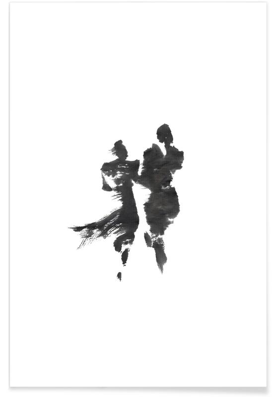 D'inspiration japonaise, Noir & blanc, Together II affiche