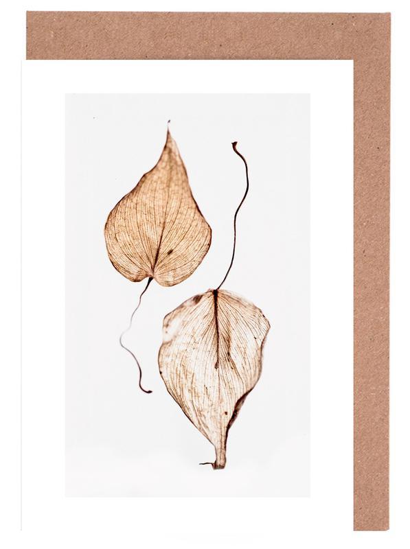 Delicate Leaves -Grußkarten-Set
