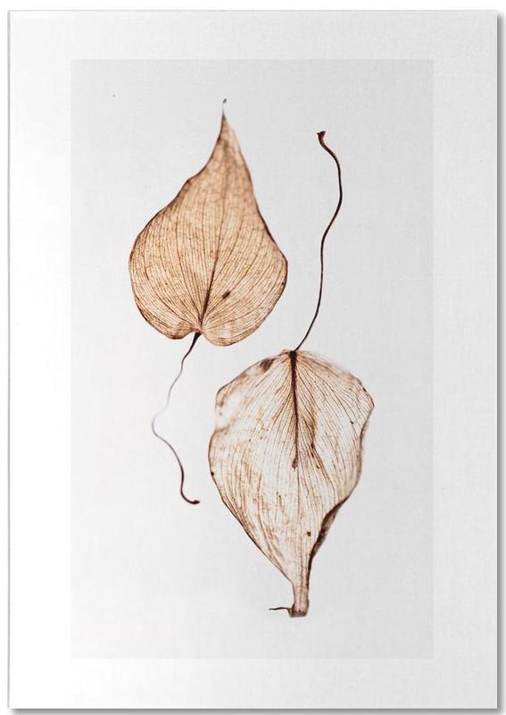 Delicate Leaves -Notizblock