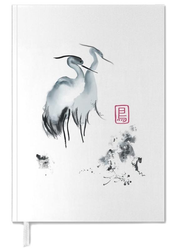 Japans geïnspireerd, Kraanvogels, Cranes Of Mist II agenda