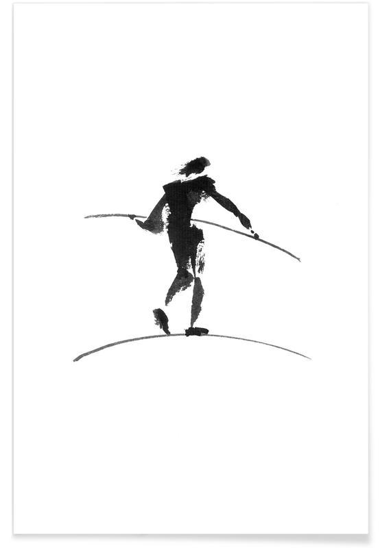 D'inspiration japonaise, Noir & blanc, Hasenheide II affiche