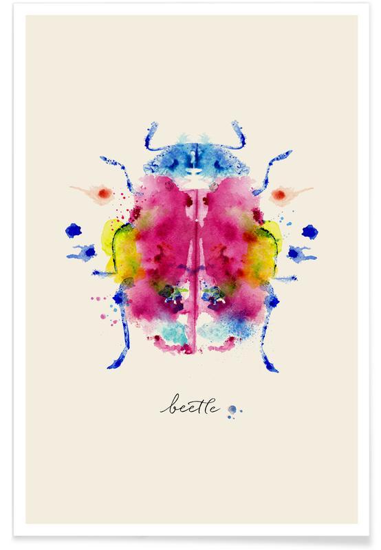 Kevers, Ink Beetle poster