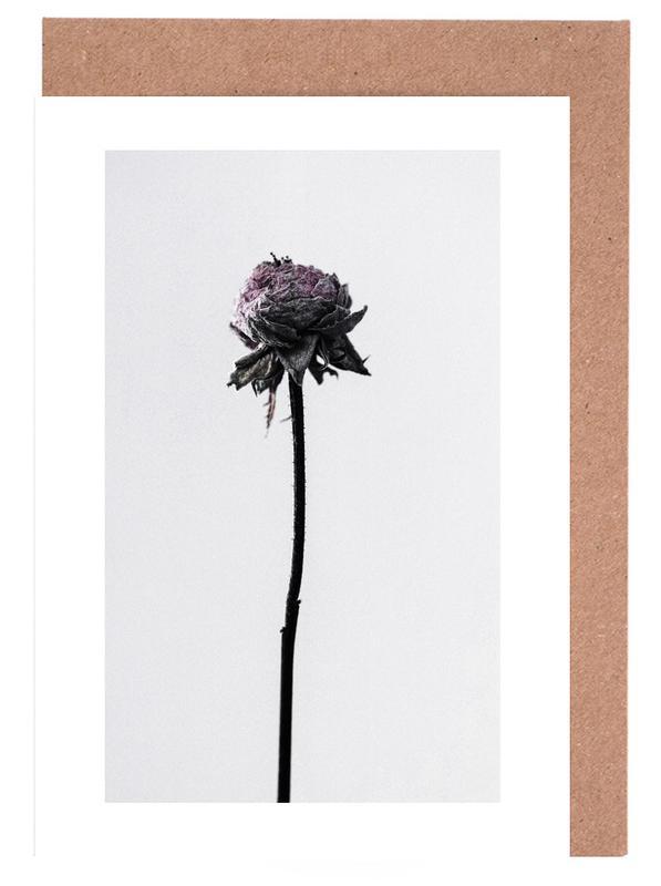 Wilted Flower -Grußkarten-Set
