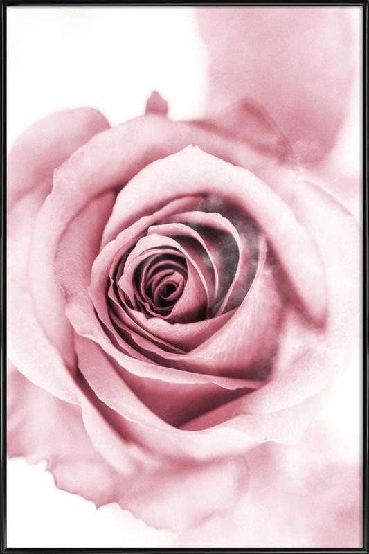 Pink Petals Poster i standardram