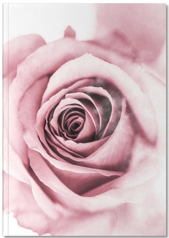 Roses, Pink Petals Notebook