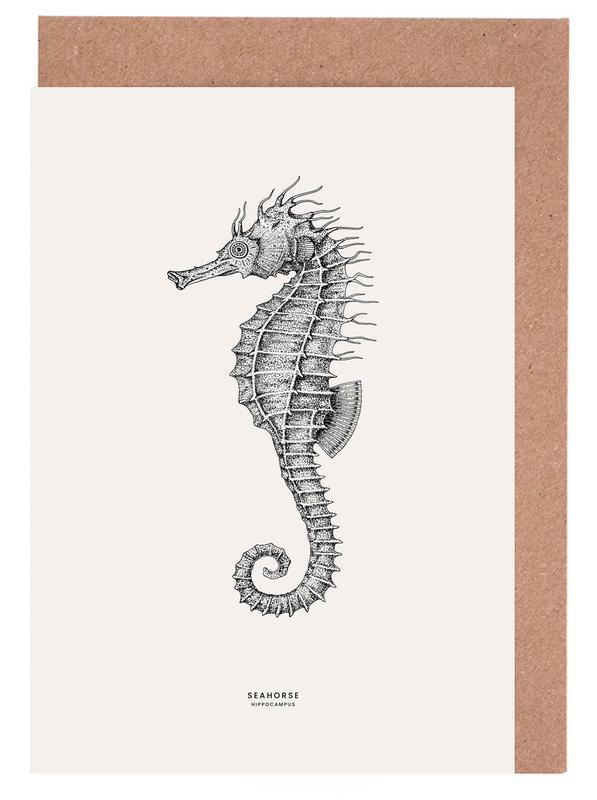 Seahorse -Grußkarten-Set