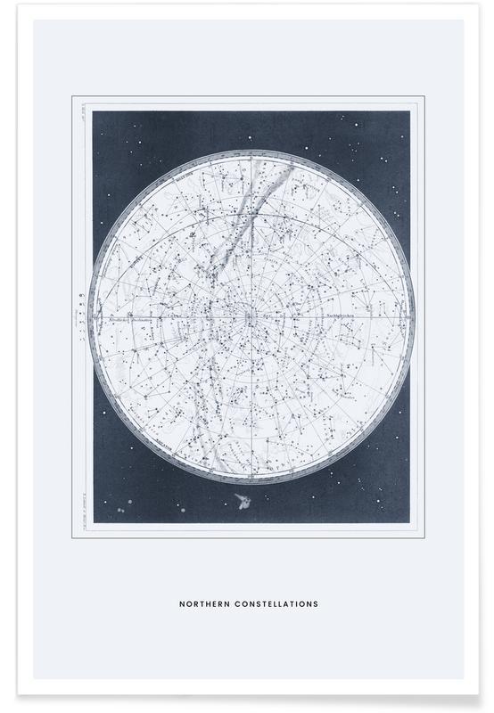 , Northern Constellations II Plakat