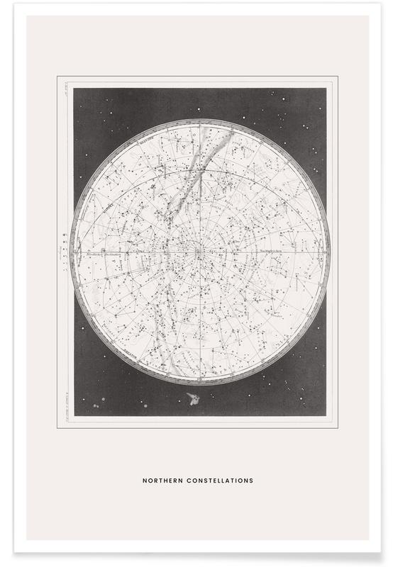 Northern Constellations Plakat