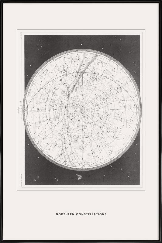 Northern Constellations Poster i standardram
