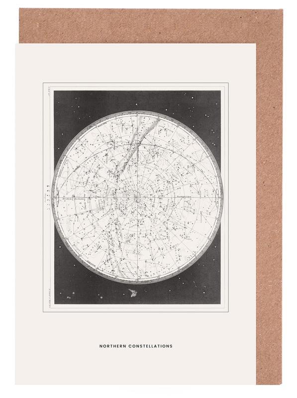 Northern Constellations -Grußkarten-Set