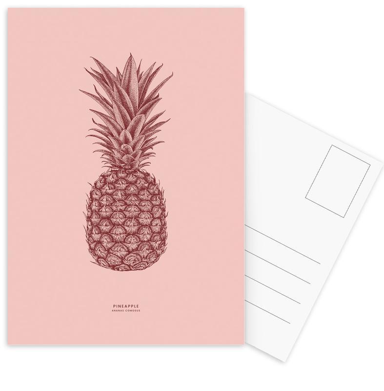 Pineapples, Pineapple II Postcard Set