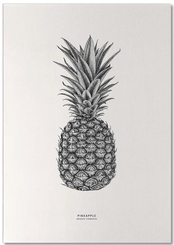 Pineapple -Notizblock