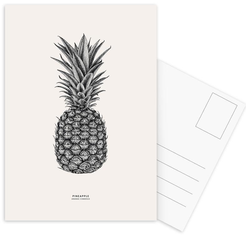 Pineapples, Pineapple Postcard Set