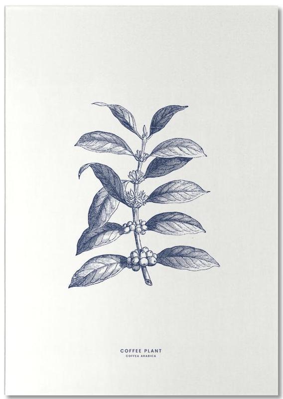 Coffee Plant II -Notizblock