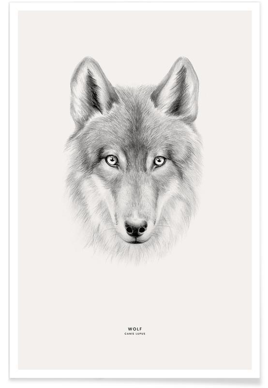 , Wolf Plakat