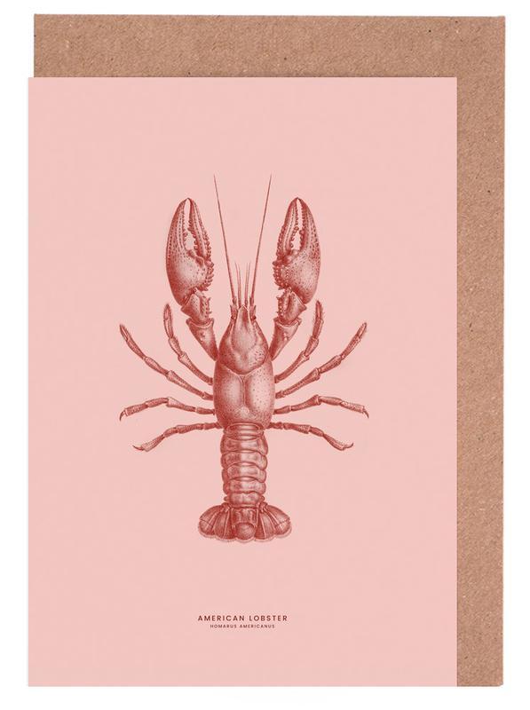 American Lobster II -Grußkarten-Set