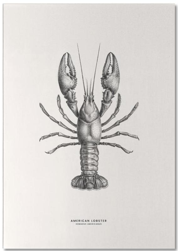 American Lobster bloc-notes
