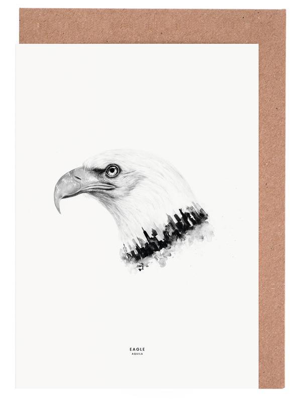 Eagle -Grußkarten-Set