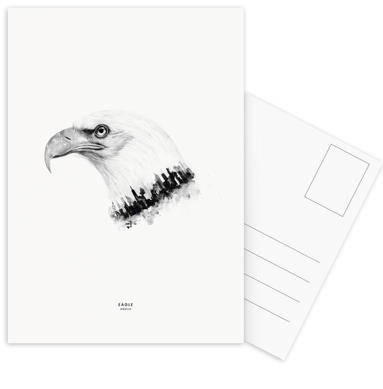 Eagle -Postkartenset