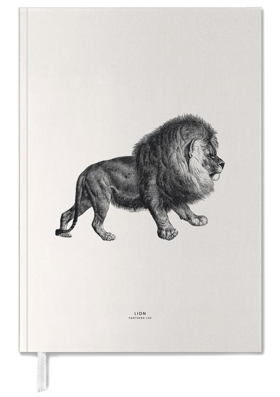 Lions, Black & White, Lion Personal Planner