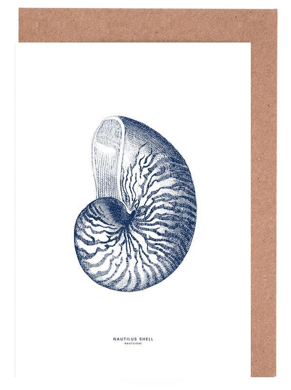 Nautilus Shell II cartes de vœux