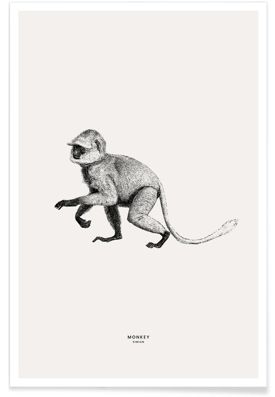 Monkey Plakat