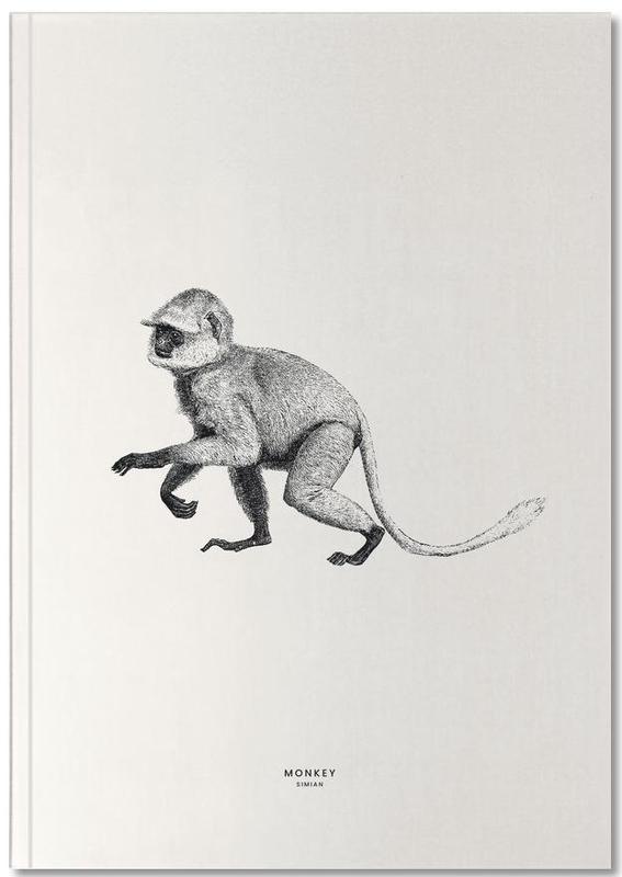 Nursery & Art for Kids, Monkeys, Monkey Notebook