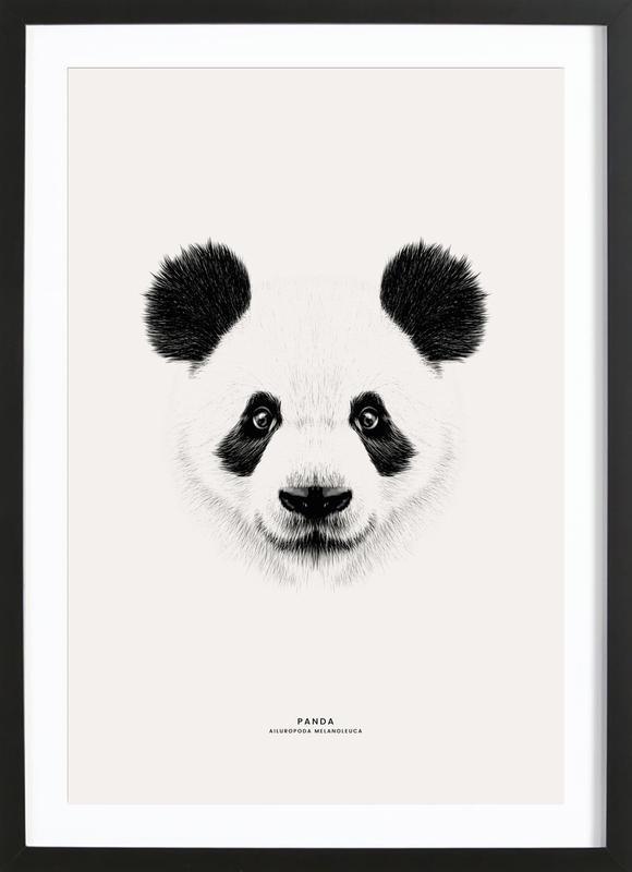 Panda Poster i träram