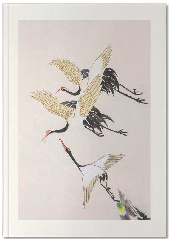 Swooping Cranes Notebook