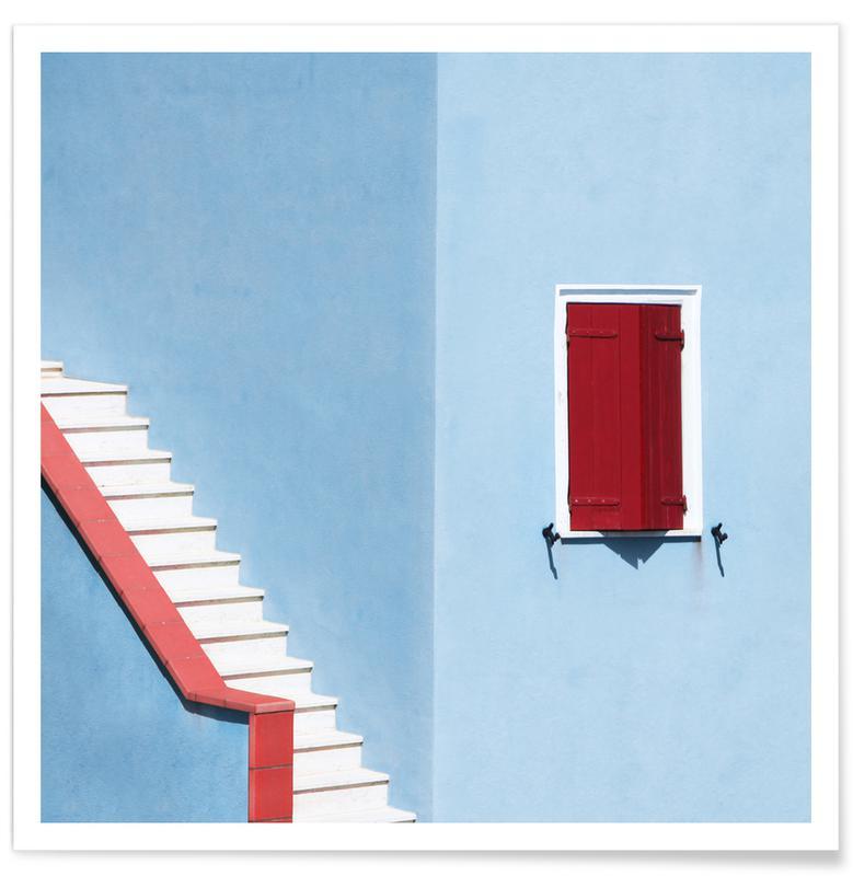Architectonische details, Upstairs poster