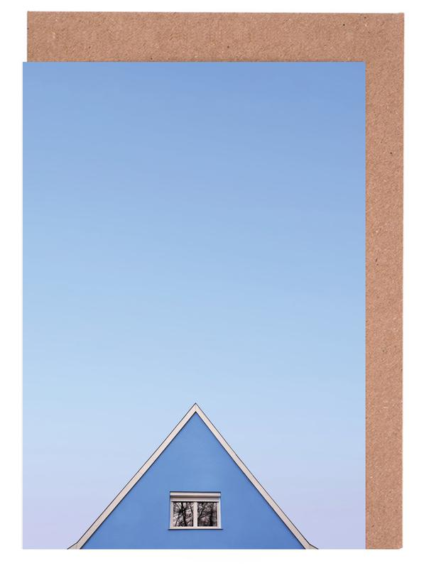 Architekturdetails, Blue Peak -Grußkarten-Set