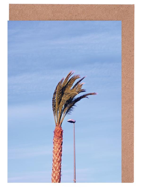 Architekturdetails, Palmen, Carrot And Friend -Grußkarten-Set