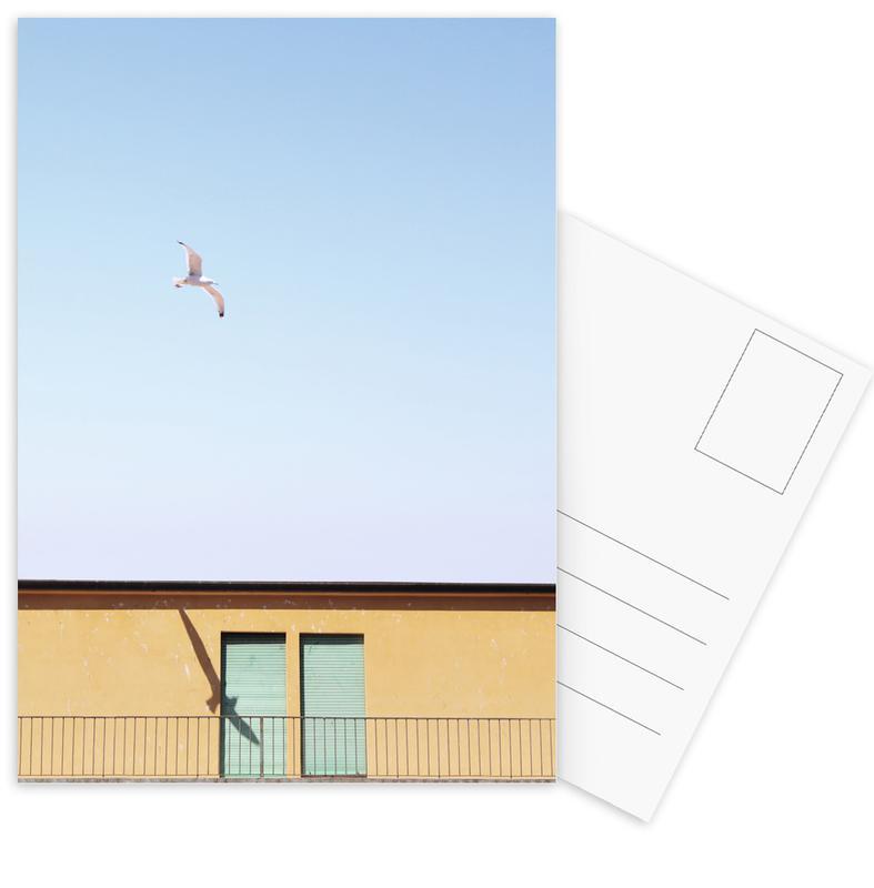 Architekturdetails, Checking In -Postkartenset