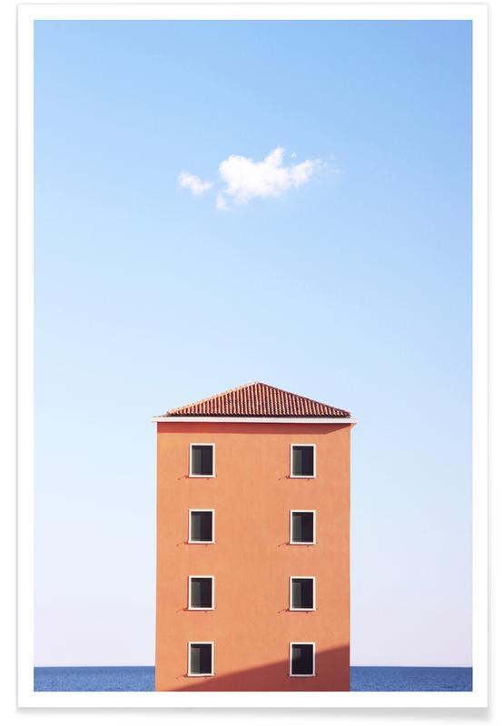 Architectonische details, High Rise poster