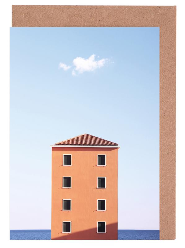 Architekturdetails, High Rise -Grußkarten-Set