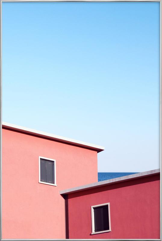 Neighbors -Poster im Alurahmen