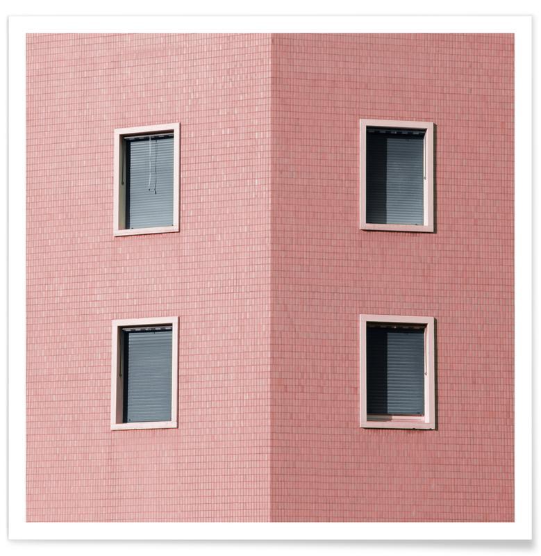 Architekturdetails, Around The Corner -Poster
