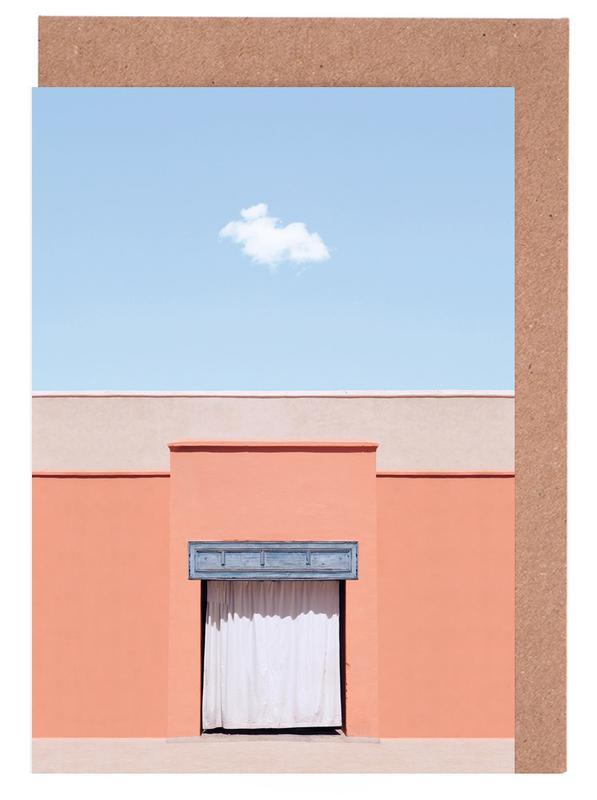 Architekturdetails, Behind The Curtain -Grußkarten-Set