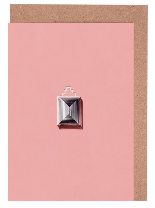 Architekturdetails, Maze -Grußkarten-Set