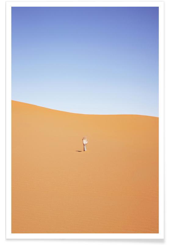 Wüsten, 1 m Fine -Poster