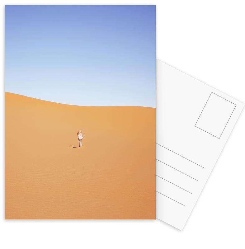 Wüsten, 1 m Fine -Postkartenset