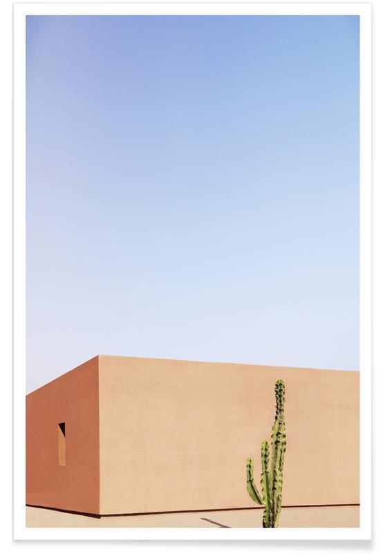 Architekturdetails, Cactus House -Poster