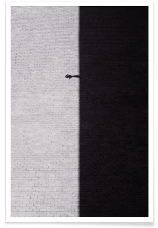 Architekturdetails, Schwarz & Weiß, Reach Out -Poster