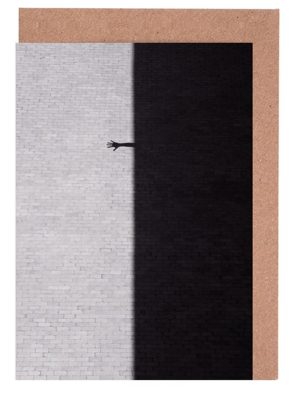 Architekturdetails, Schwarz & Weiß, Reach Out -Grußkarten-Set