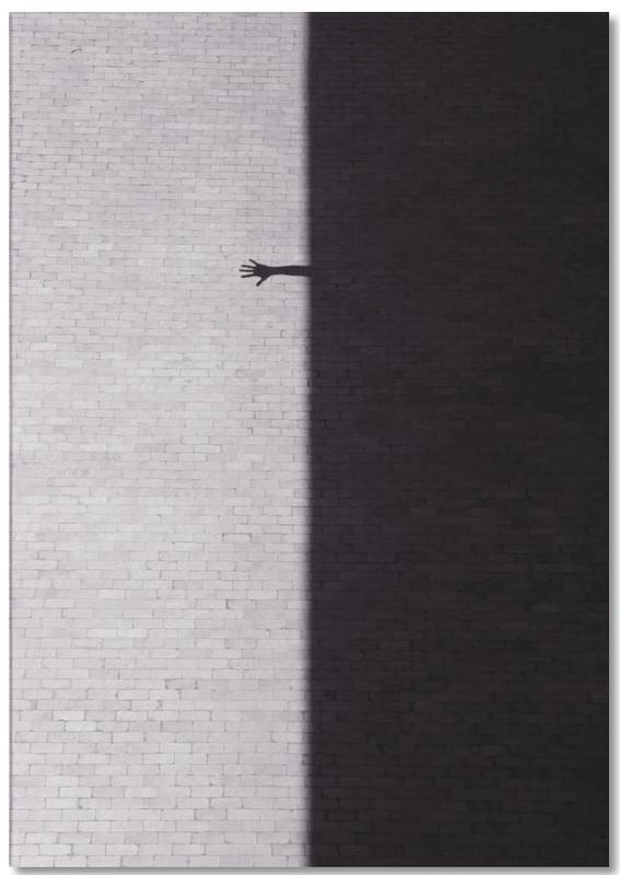 Détails architecturaux, Noir & blanc, Reach Out bloc-notes