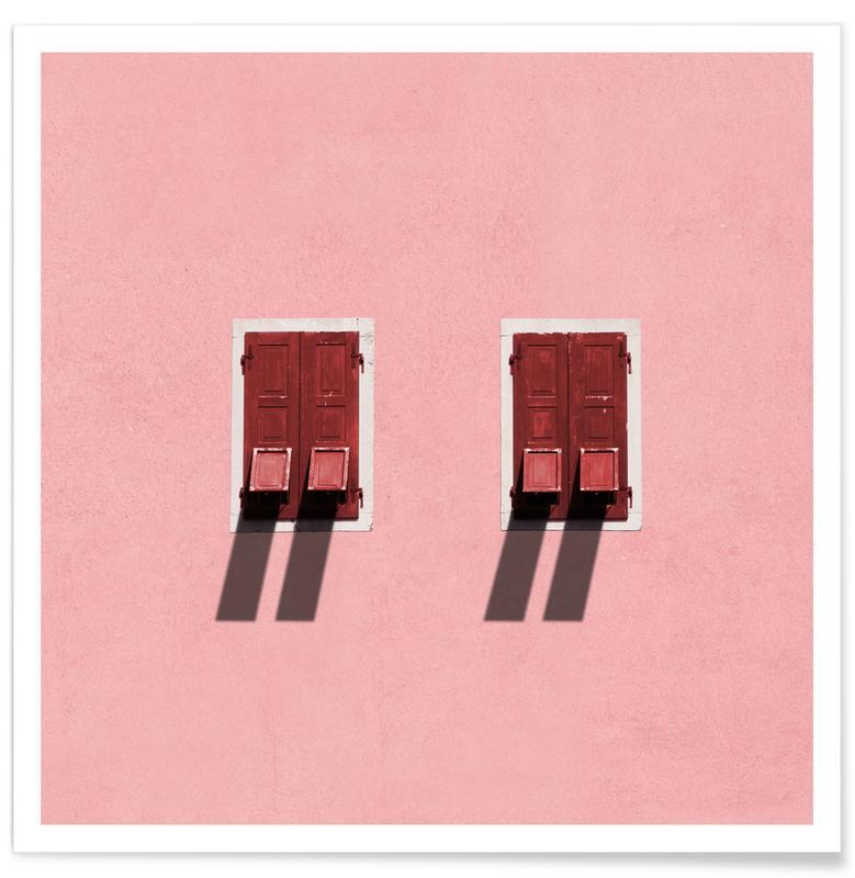 Architekturdetails, Twins -Poster