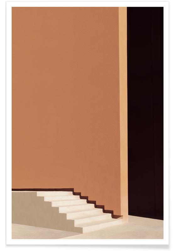 Architectonische details, Stairs poster