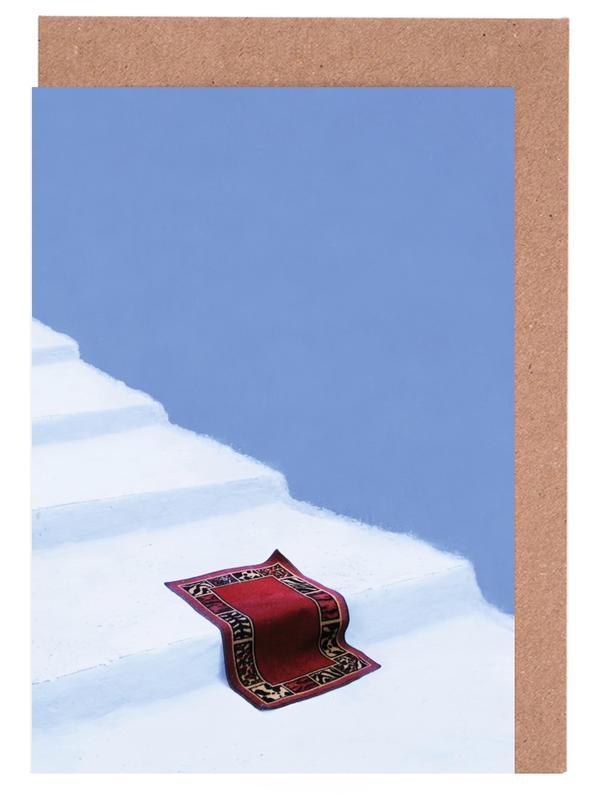 Architekturdetails, Magic Carpet S Day Off -Grußkarten-Set